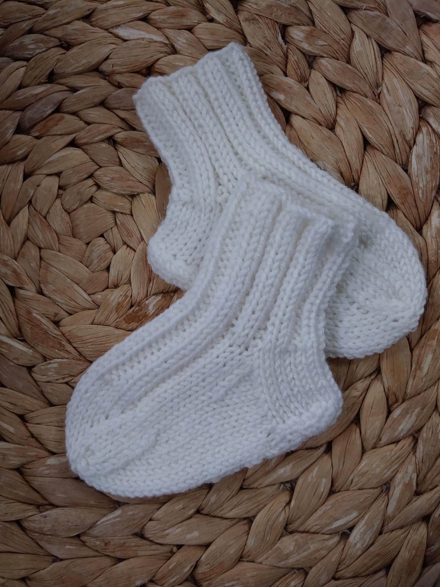 Baby Socks Purl &Jane Pattern By Jane Ellison 2