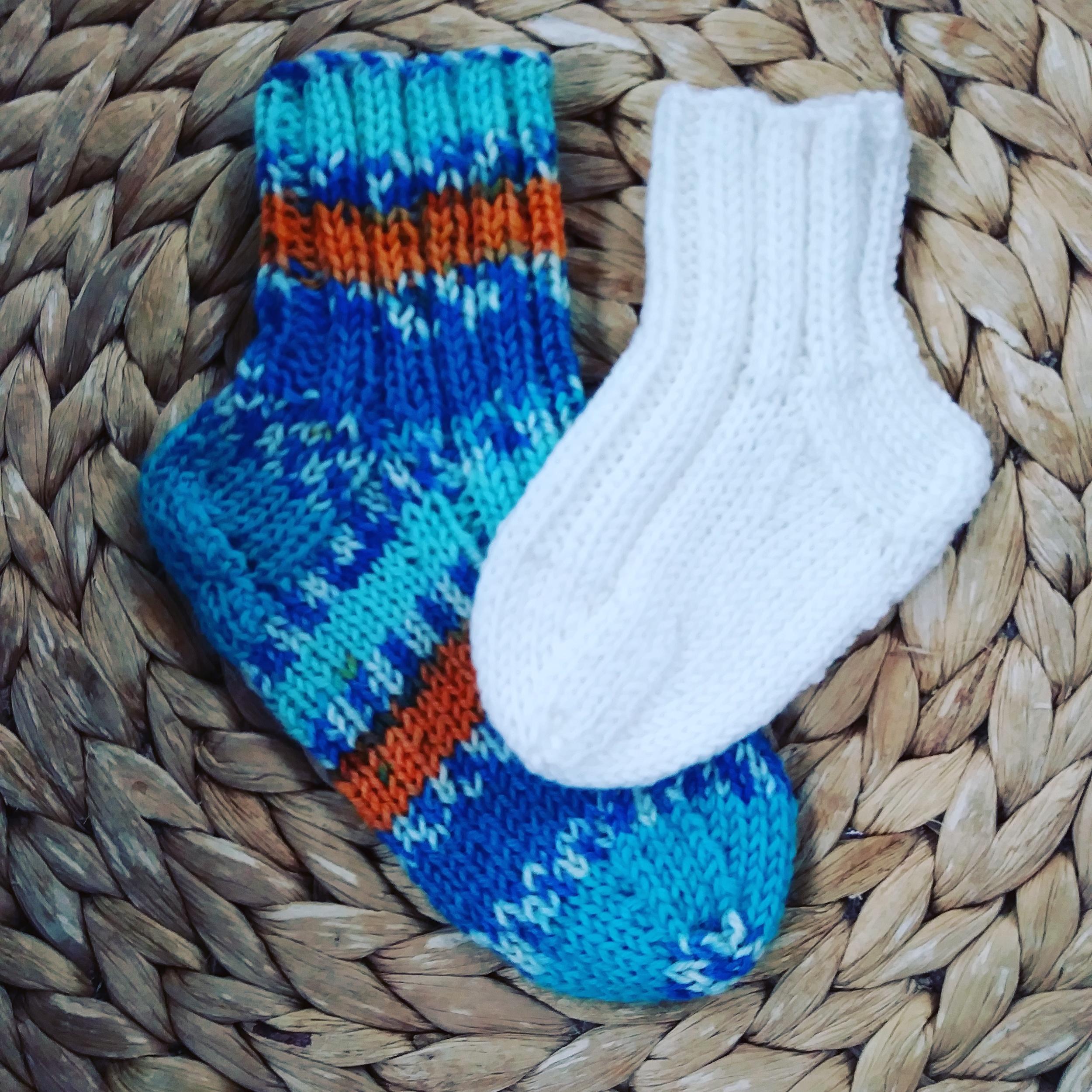 Baby's First Socks By Jane Ellison