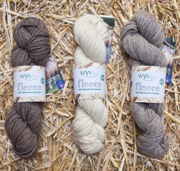 Bluefaced Leicester Aran – Natural Shades