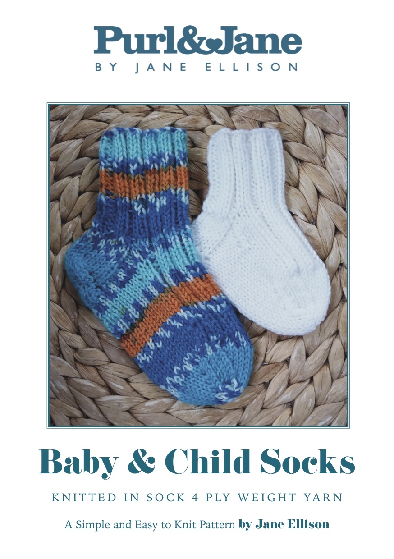 Baby & Child Socks Pattern
