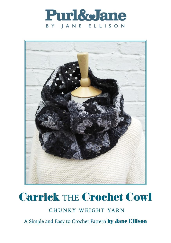Carrick the Crochet Cowl Pattern