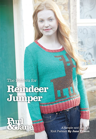Christmas Reindeer Jumper Pattern