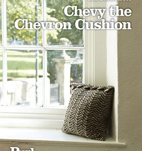 Chevy the Chevron Cushion Pattern