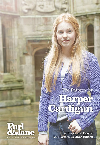 Harper Cardigan Pattern
