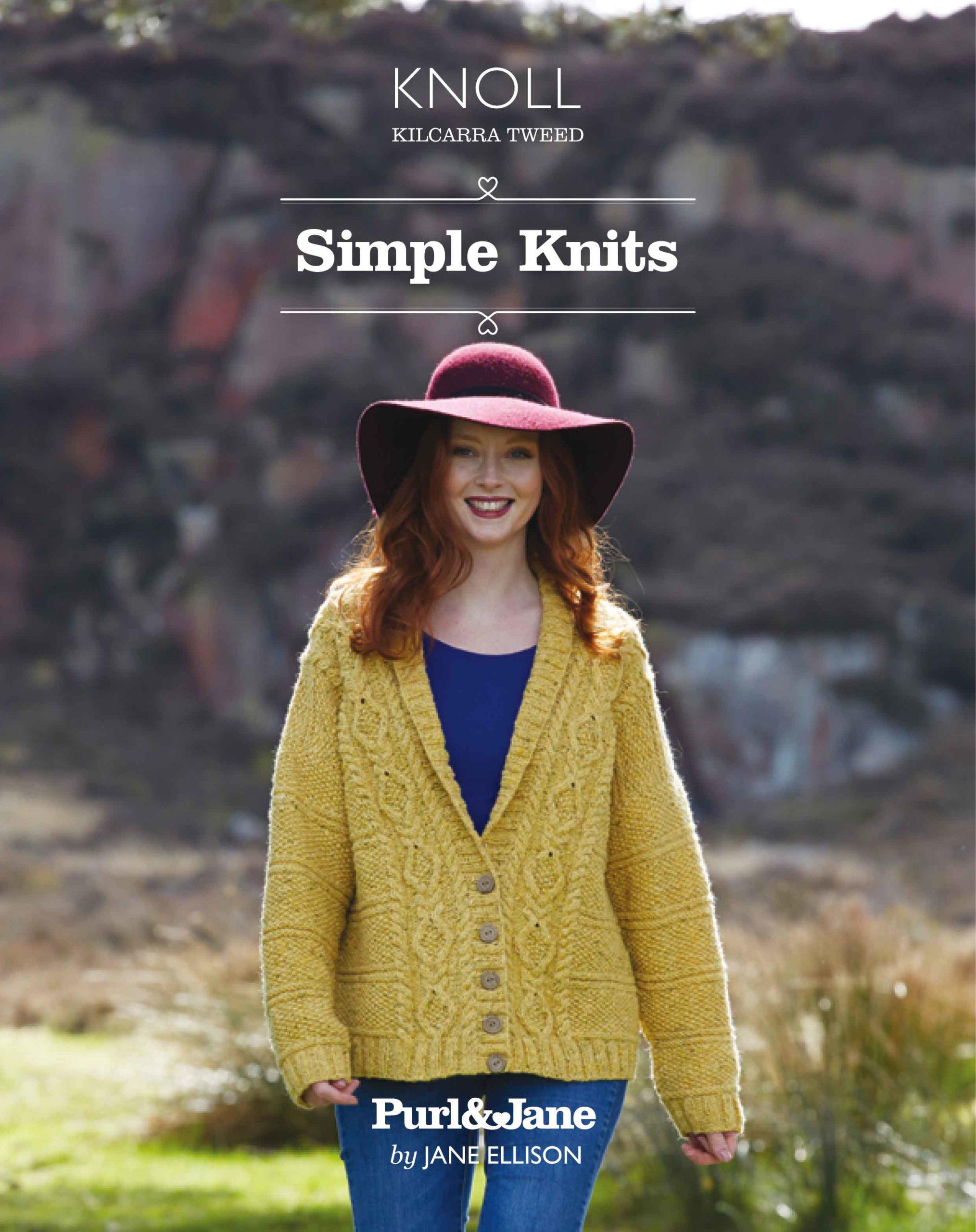 Kilcarra Tweed Simple Knits Book