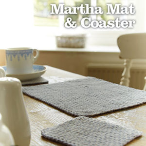 MARTHA MAT & COASTER DOWNLOAD PATTERN