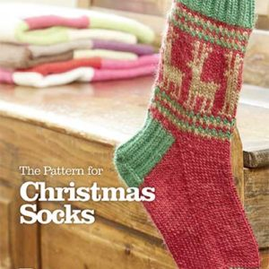 CHRISTMAS SOCKS PRINTED PATTERN