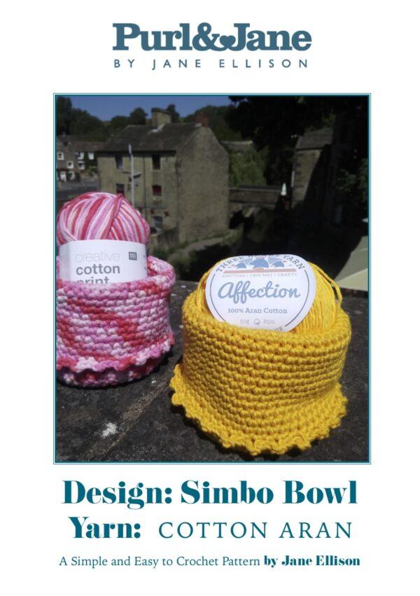 Simbo Crochet Bowl Pattern