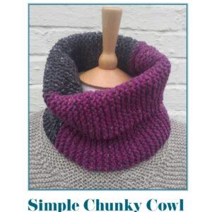 Simple Chunky Cowl