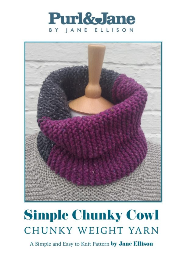 Simple Chunky Cowl