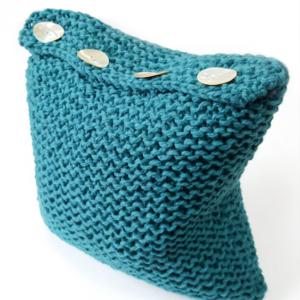 Simple Superchunky Cushion Pattern