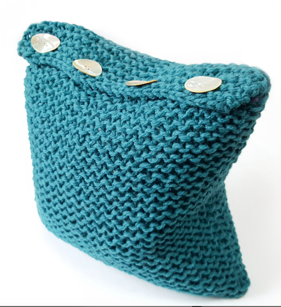 Simple Superchunky Cushion Pattern