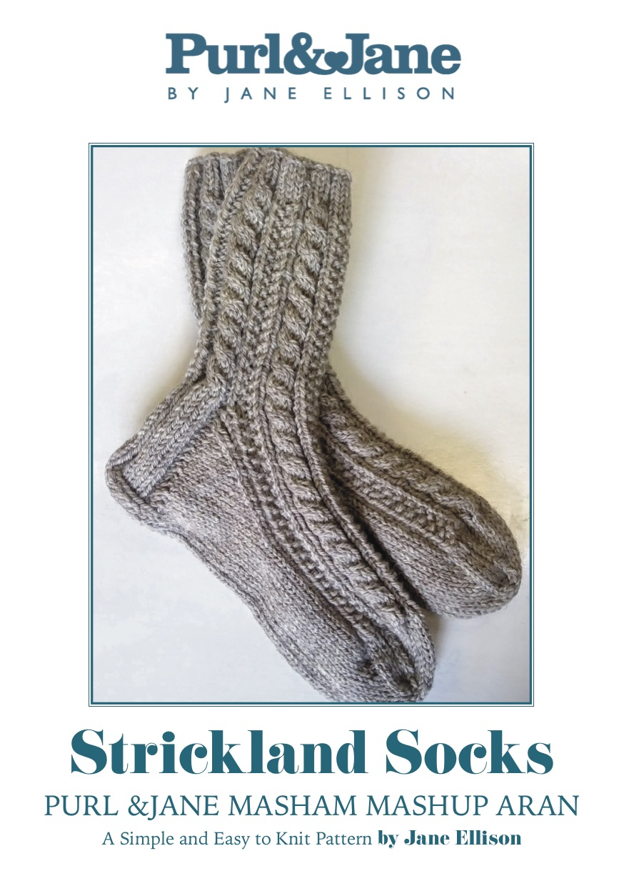 STRICKLAND SOCKS DOWNLOAD PATTERN