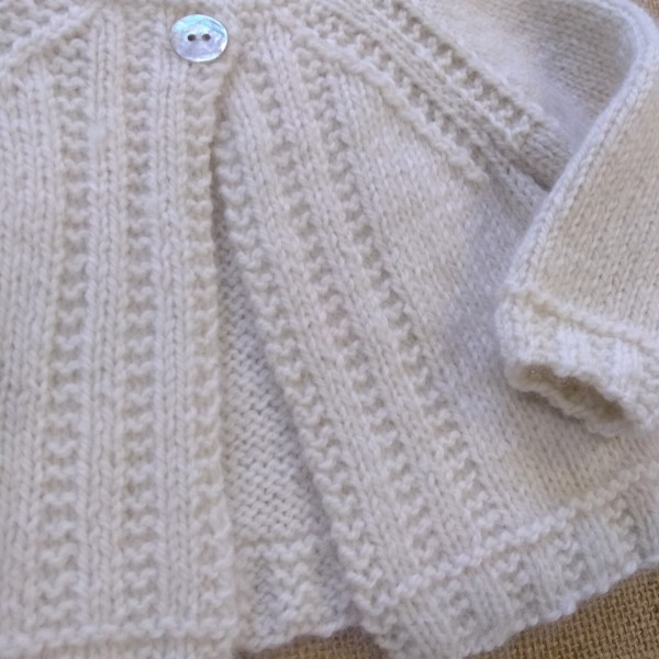 Baby Charley Cardigan by Jane Ellison