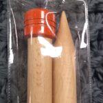 25mm straight needles